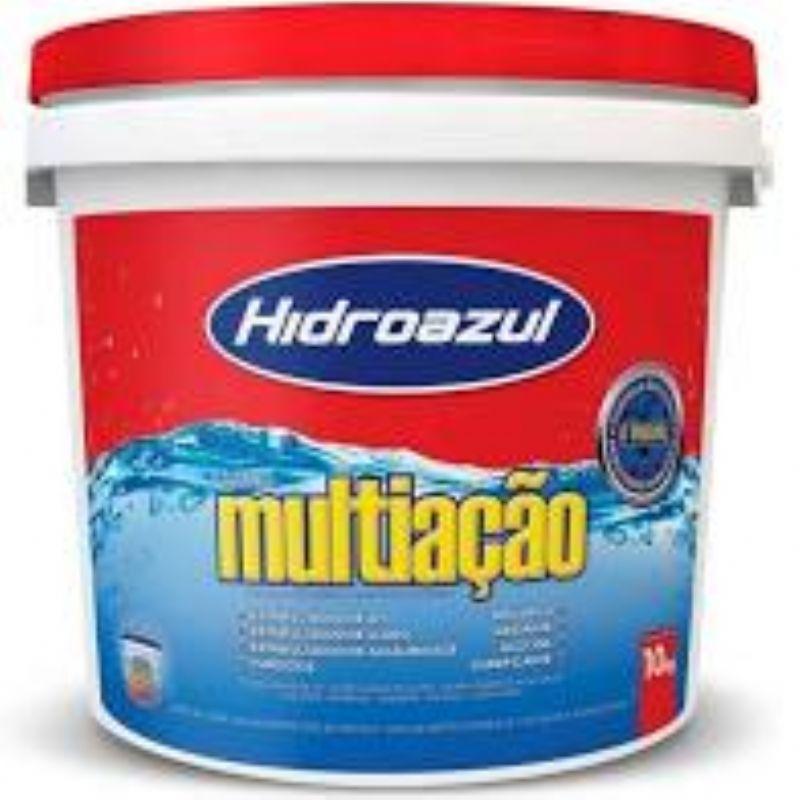 Cloro Multiação Hidroazul 1Kg, 2,5Kg, 5Kg ou 10Kg