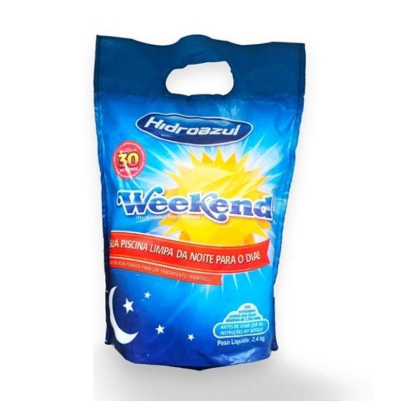 Cloro Dosagem Única Weekend 2,4Kg ou 4Kg - Hidroazul