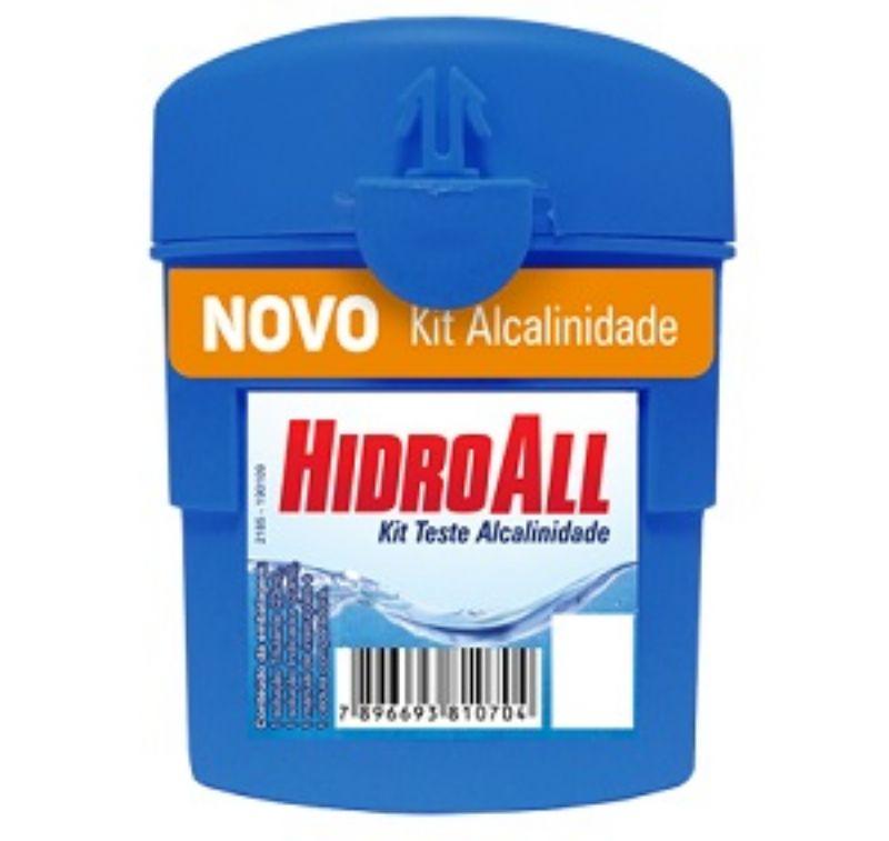 Kit de Teste Alcalinidade Hidroall