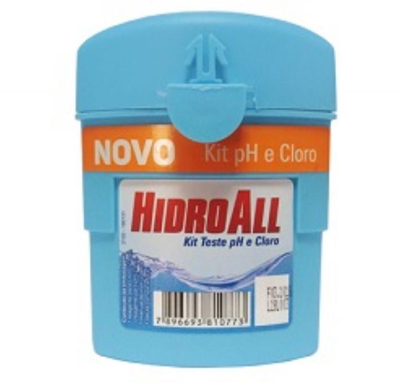 Kit de Testes Cloro e pH - Hidroall