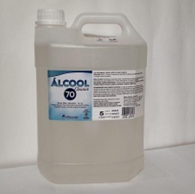 Álcool Líquido 70% 5L - Cleaner