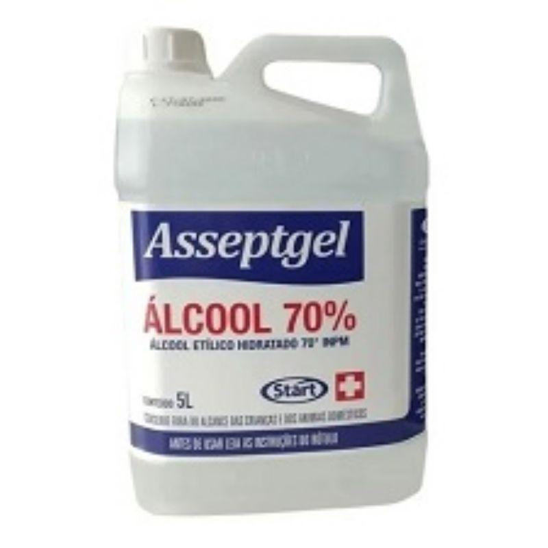 Álcool Líquido 70% 5L - Start
