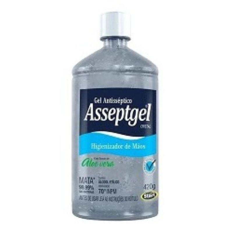 Álcool em Gel Asseptgel 52g, 420g ou 5L - Start